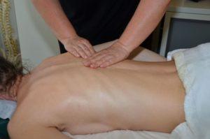 Nacken- und Rückenverspannung
