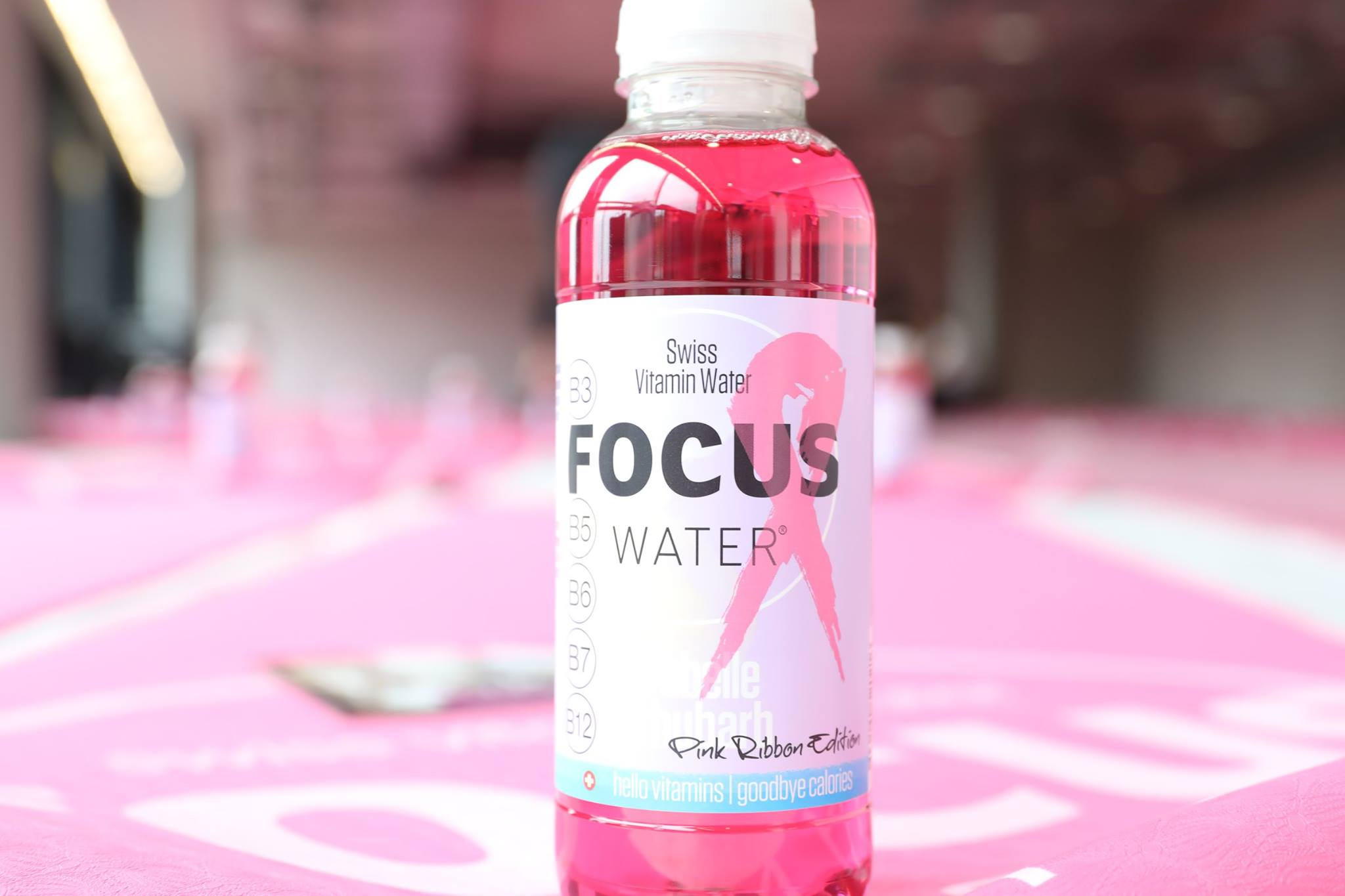 Focus Water special Edition Pink Ribbon