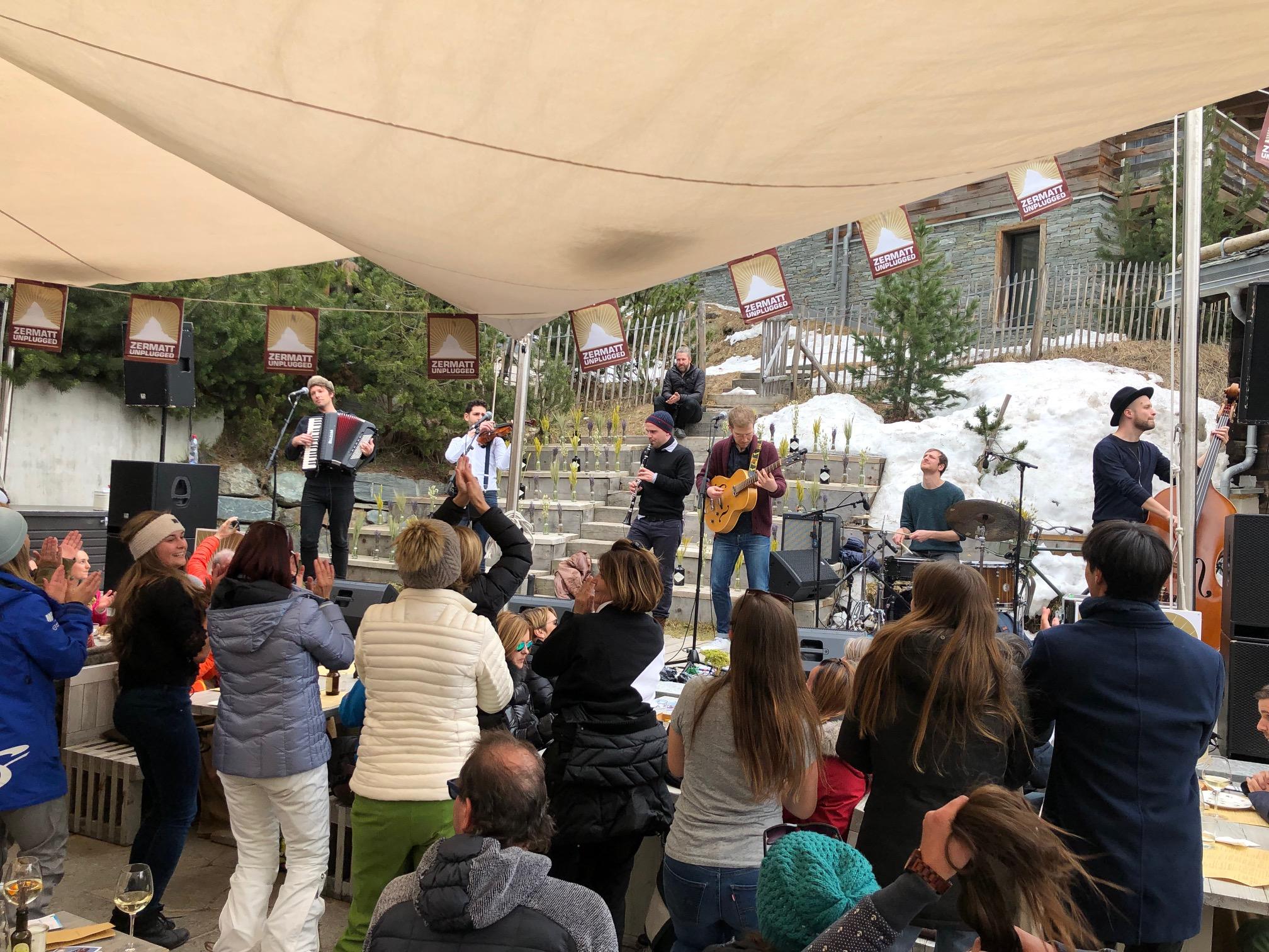 Zermatt unplugged Cheibe Balagan