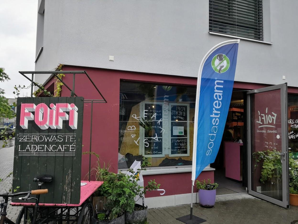 myonlybottle Launch im zerowaste Ladencafe Foifi