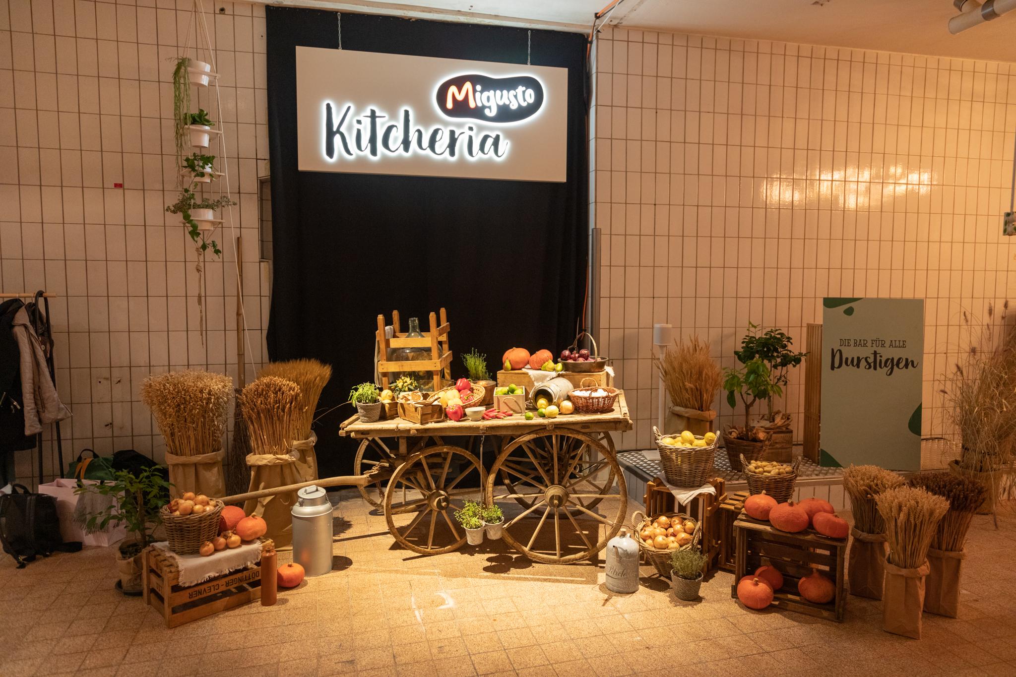 Kitcheria Marktplatz frische Zutaten