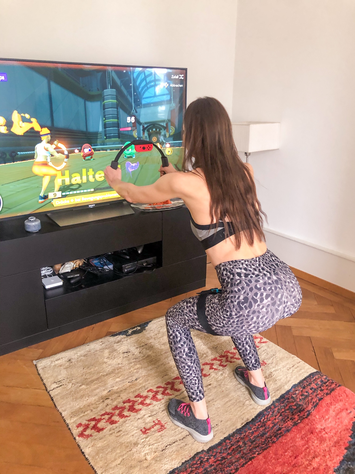 Nintendo Switch Ringfitadventure Squats