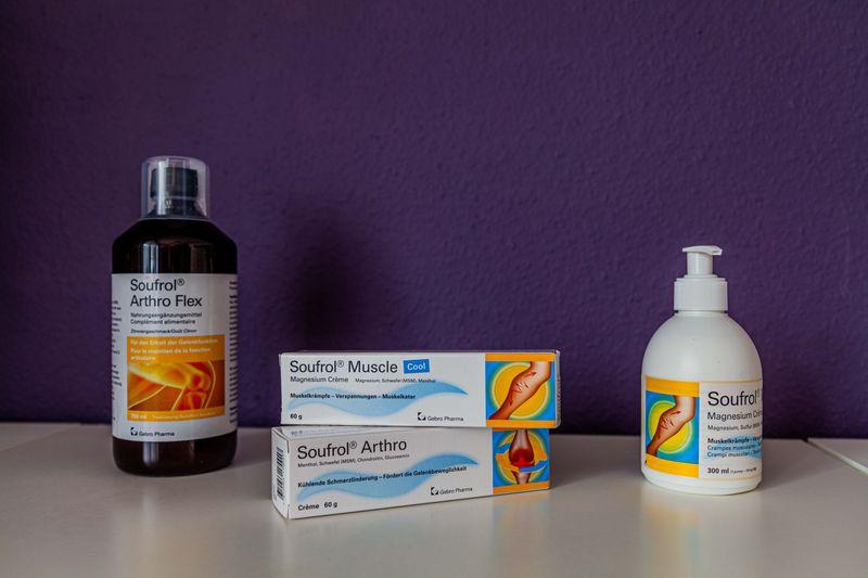 Soufrol Arthro und Soufrol Magnesium