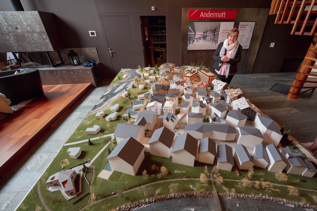 Planung Dorf Andermatt