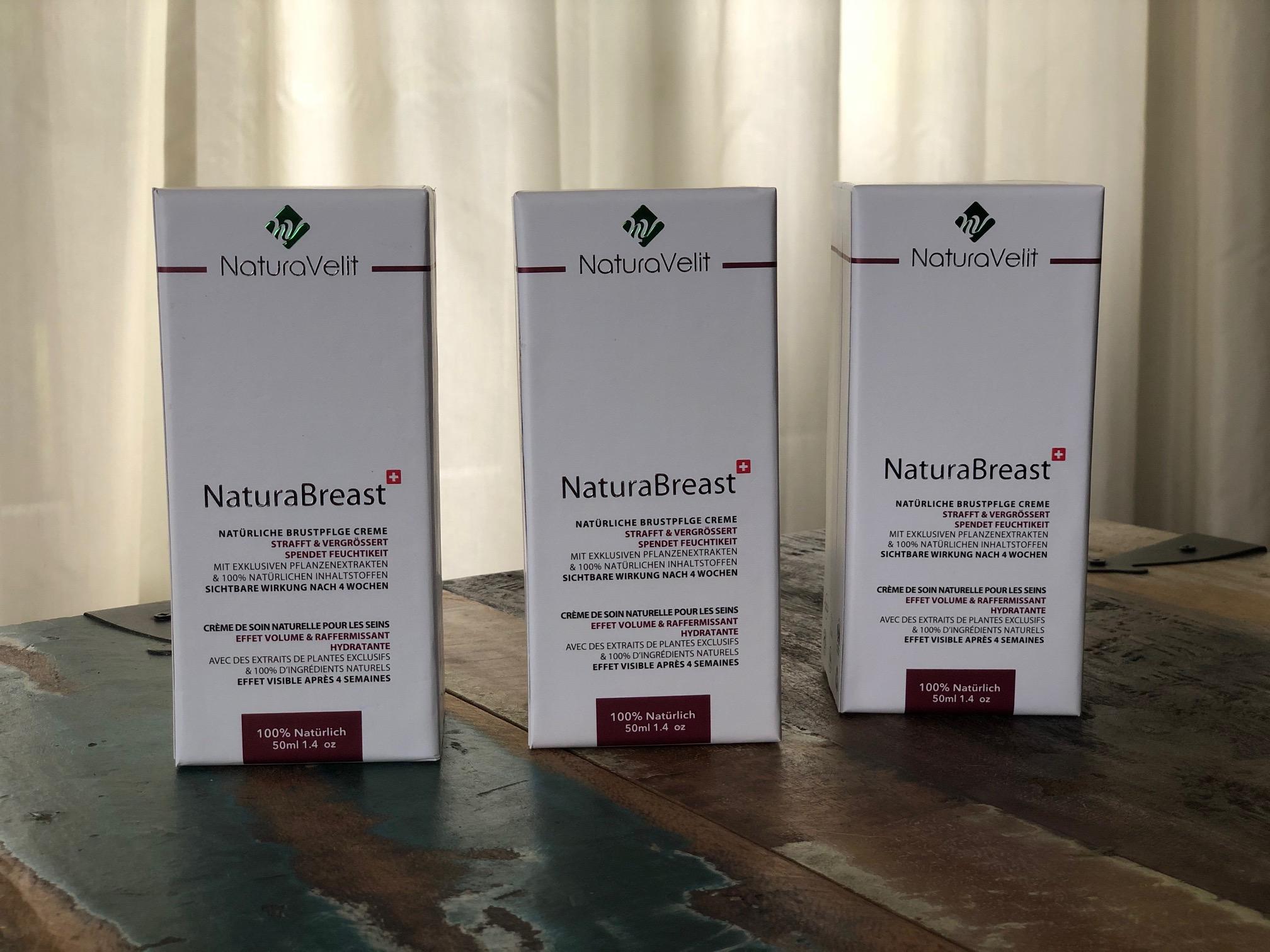 Naturabreast Verpackung
