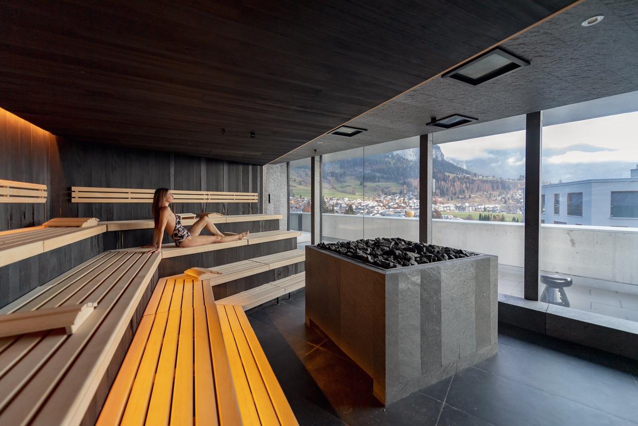 The Hide Hotel Flims Sauna