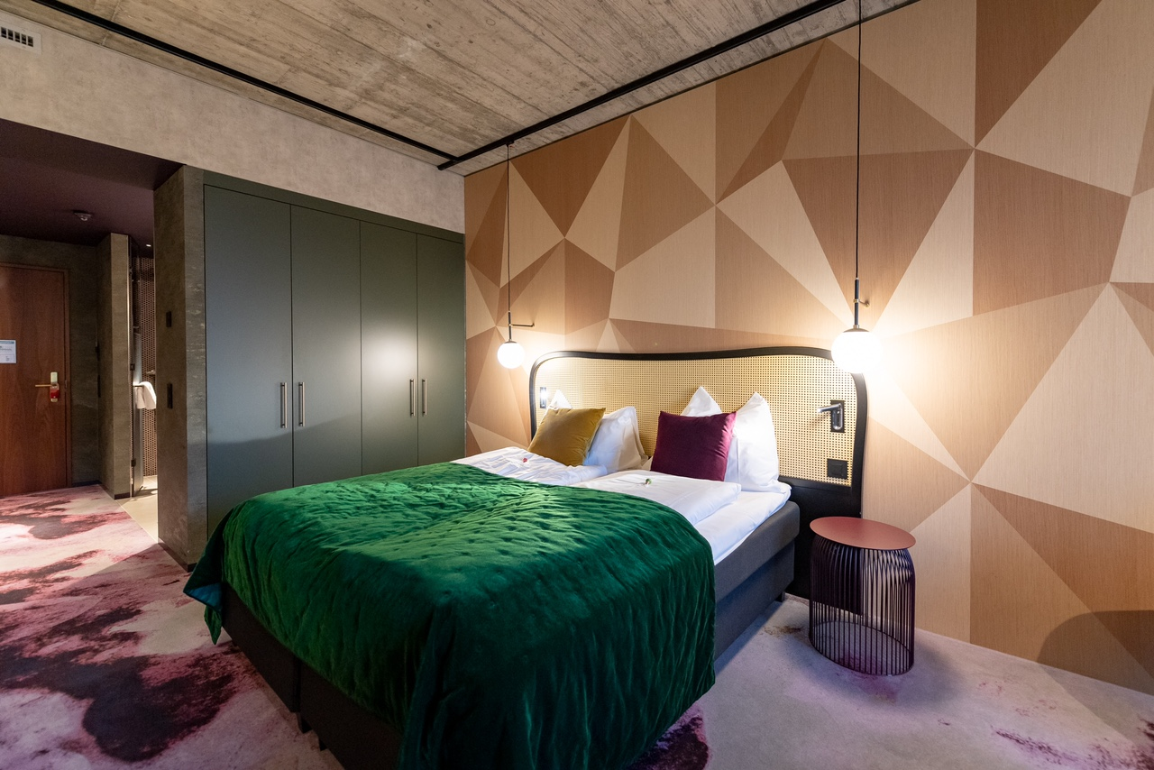 The Hide Hotel Zimmer