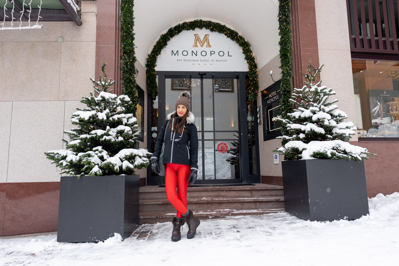 Art Boutique Hotel Monopol Eingang