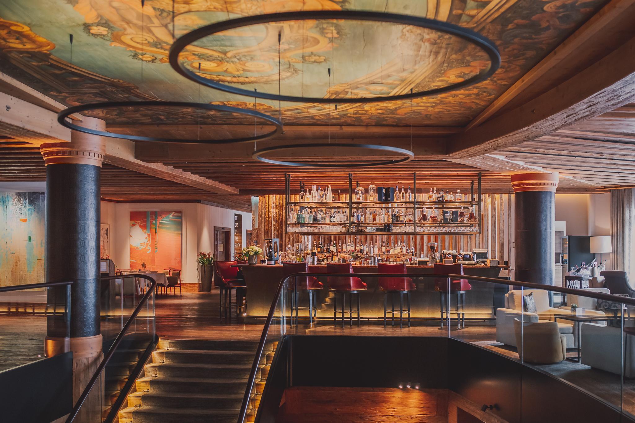The Alpina Gstaad Bar