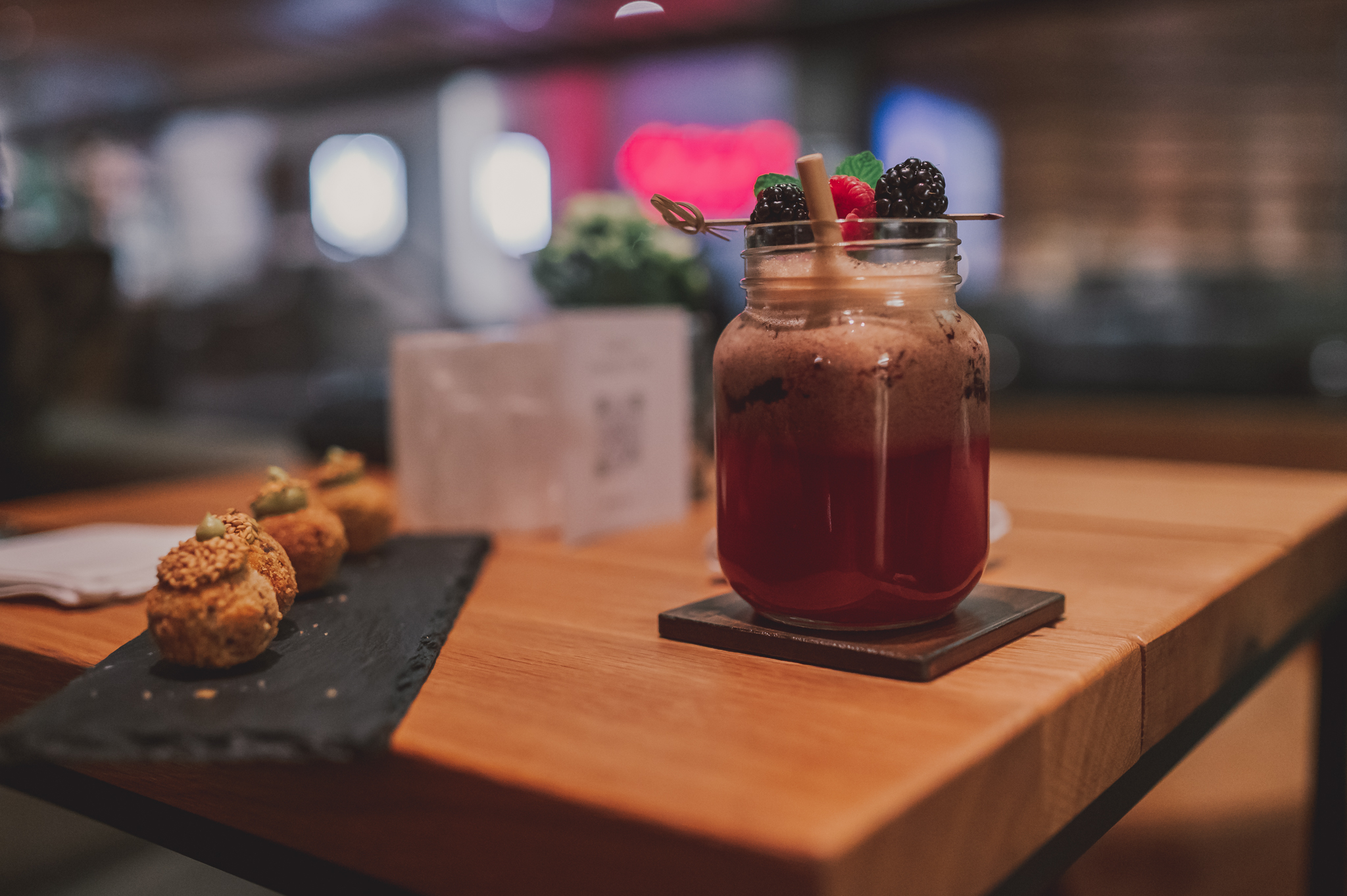 The Alpina Gstaad Bar Mocktail
