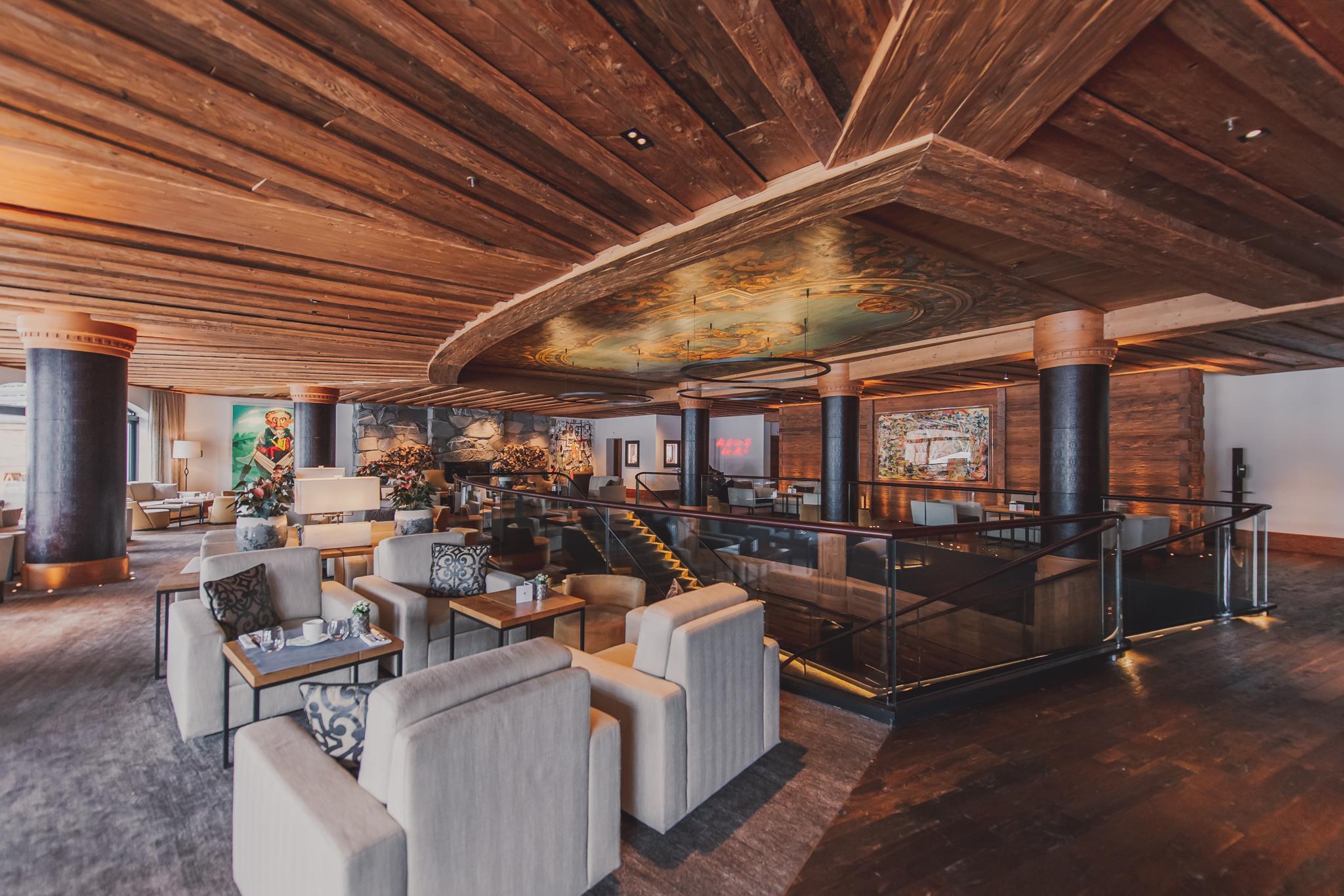 The Alpina Gstaad Bar und Lounge