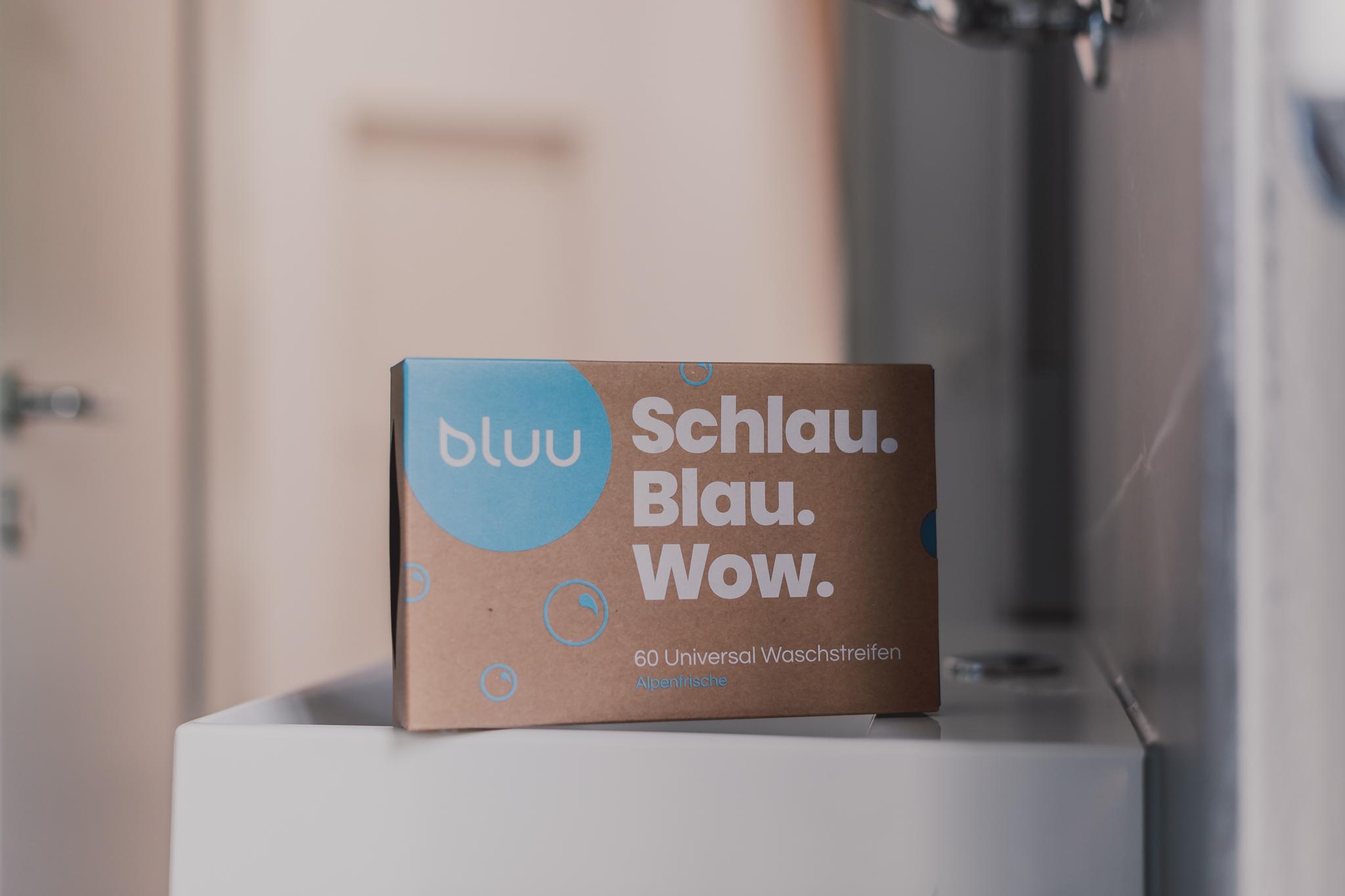 Waschstreifen bluu